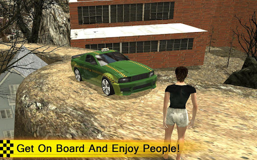 Off Road Taxi Hill Driver