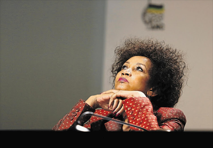 Lindiwe Sisulu. Picture: THE TIMES