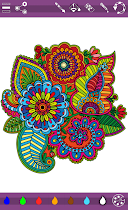 Colorish mandala coloring book - screenshot thumbnail 05