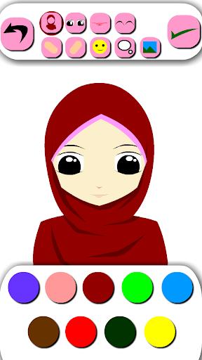 Hijab Emoticon Avatar