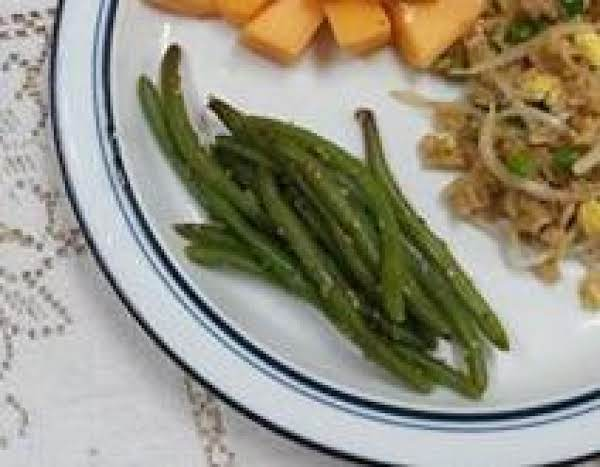 Green Beans With Sesame Sauce - By Linky