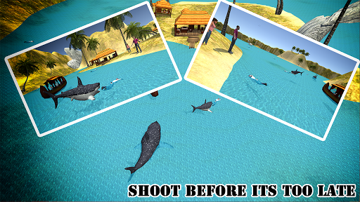 Shark Hunting 3d :Free Shark Shooter 2.2 screenshots 3
