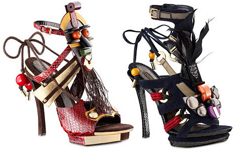 Photo: Sandalias by Louis Vuitton
