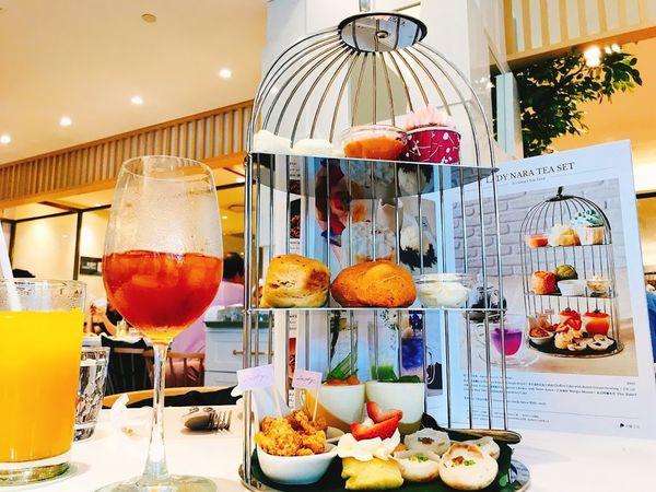 Lady nara曼谷新泰食餐廳.台北情人約會餐廳推薦.超浮誇的雙人鳥籠下午茶.全球海外首店在台北
