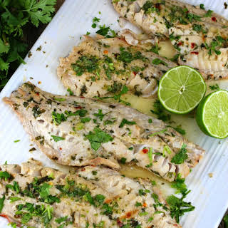 Thai Grilled Fish.