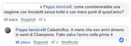 Il commento di Peppe Iannicelli
