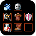 Dark RPG clicker icon