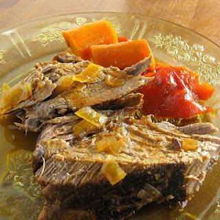 Crockpot Savory Pot Roast.
