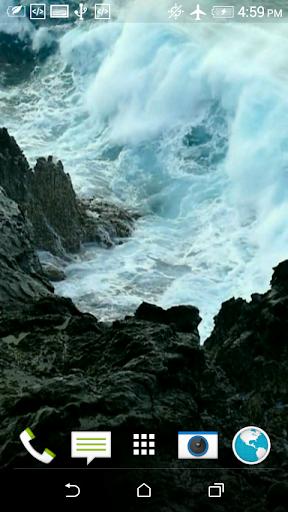 Wave 3D Video Wallpaper