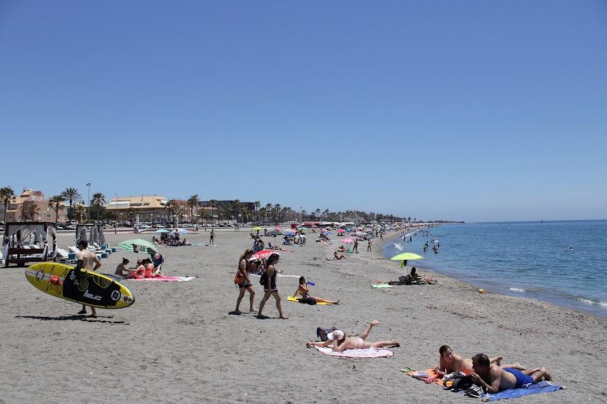 Playa de la Térmica-Nueva Almería.