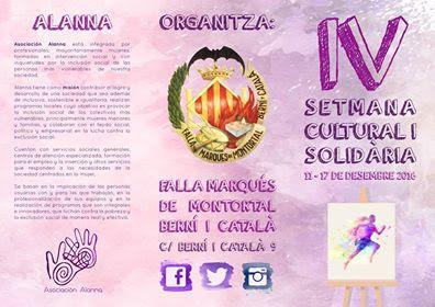 IV SemanaCultural i Solidaria de Marques de Montortal-Berni i Catalá