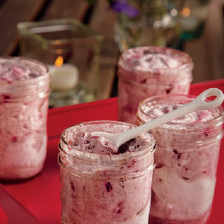Cherry Almond Swirl Mousse