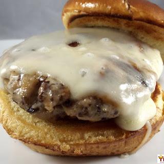 Meaty Mushroom Turkey Burgers Recipe