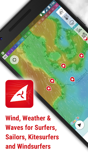 Windfinder - weather & wind forecast 3.15.0 screenshots 1