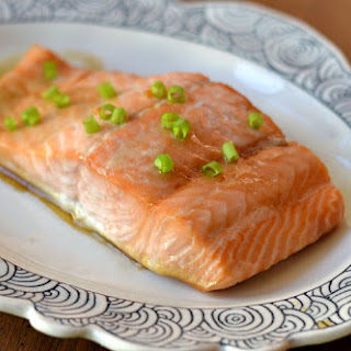Maple Soy Salmon.