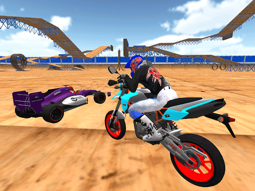 motorcycle infinity driving simulation extreme apkmr screenshots 10