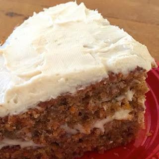 Gluten Free and Vegan Carrot Cake
