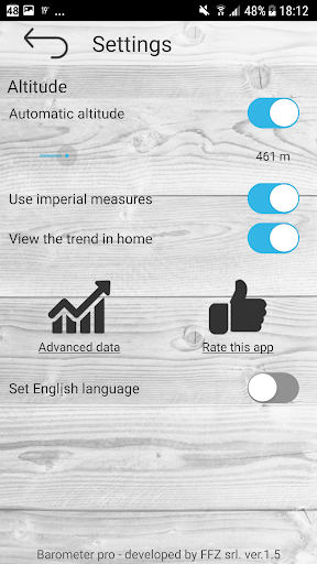 Barometer pro - free screenshot 4
