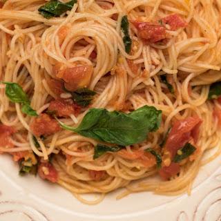 Perfect Pomodoro Sauce With Capellini.