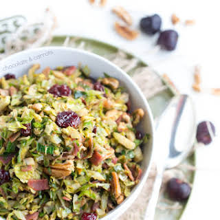 Warm Brussels Sprout Salad.