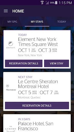 SPG: Starwood Hotels & Resorts  screenshots 6