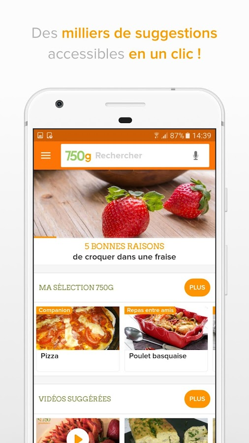 750g - 80 000 recettes - android apps on google play
