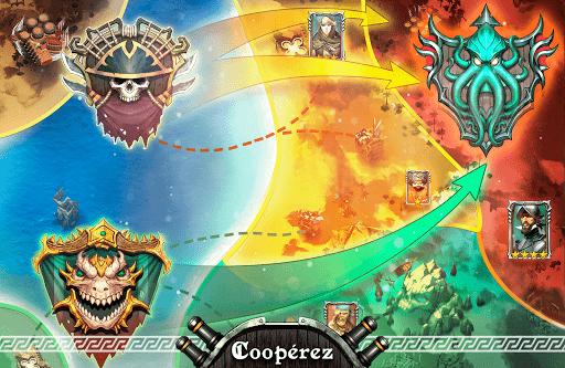 Pirate Sails: Tempest War  captures d'u00e9cran 2