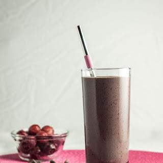 Chocolate Covered Cherry Protein Shake