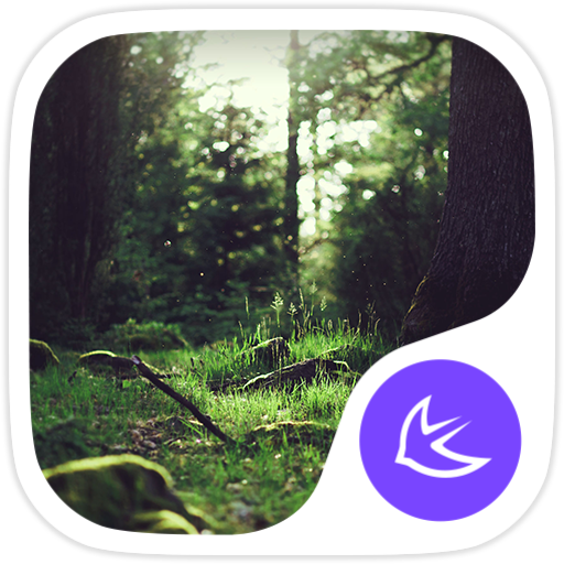 Forest-APUS Launcher theme