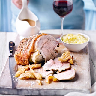 Roast Pork with Perfect Crackling and Apple Sauce Recipe