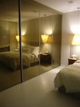 Photo: Master Bedroom - Tea Colour Mirror Sliding Door Open To Toilet