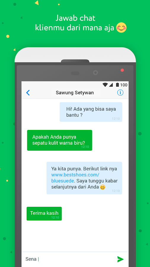 JivoChat- screenshot