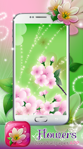 Flowers Live Wallpaper App screenshot 2