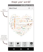 Word Cloud - screenshot thumbnail 01