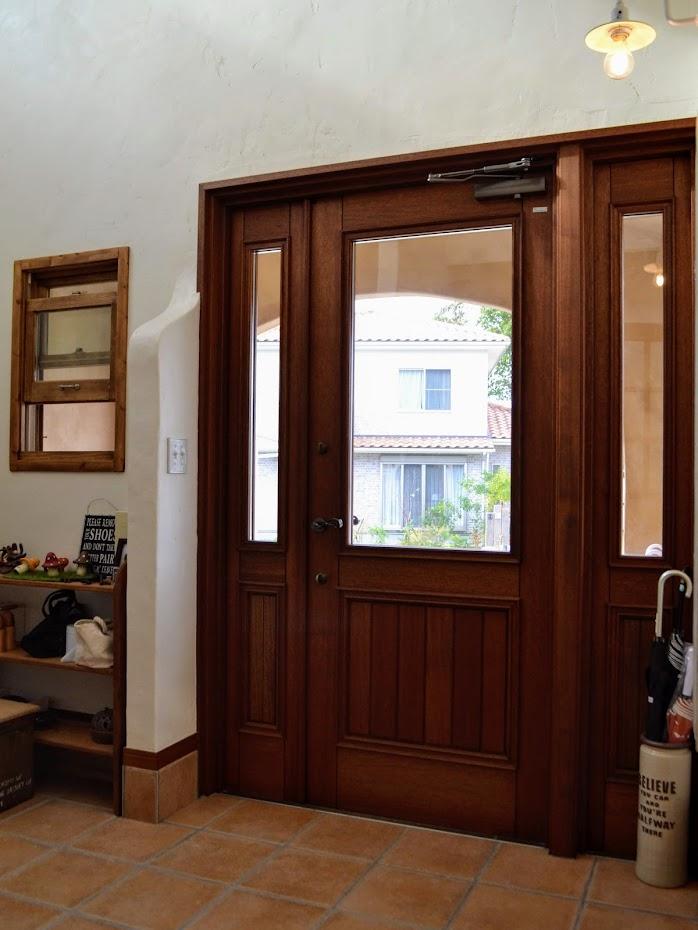 木製玄関ドア3