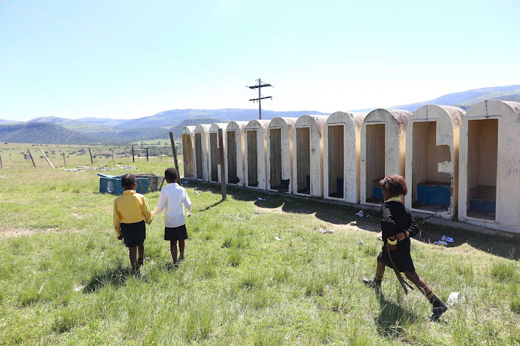 The use of pit latrines are a dire situation in many Eastern Cape Schools