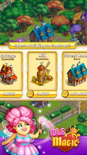 Idle Magic:Builder,Miner,Farmer at Click Away City 1.17 screenshots 14