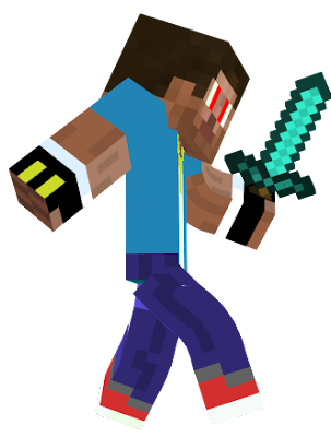 MY ROBLOX SKIN EXEPT THE GLOVES AND THE CLAM BAGE