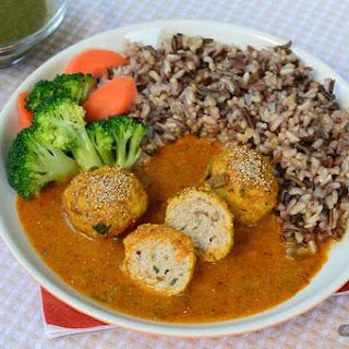 """Chicken Kofta Curry ( Chicken Meat Balls in a Yummy """"No Cream"""" Sauce)."""