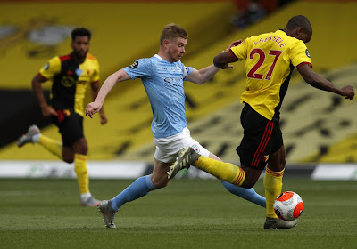 🎥 Manchester City et De Bruyne corrigent Watford qui a tendu l'autre joue