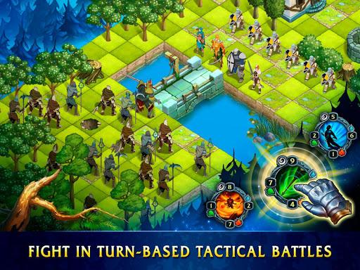 Heroes of War Magic.  Turn-based strategy 0.0.33 screenshots 1