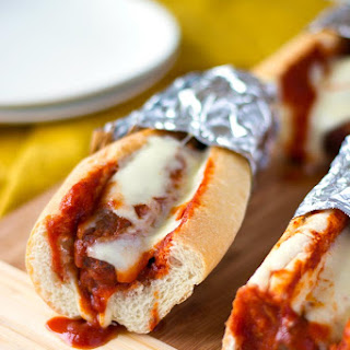 Slow Cooker Italian Sausage Cheese Bombers.