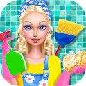 Fashion Doll - House Cleaning icon