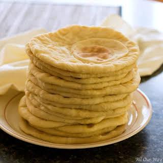 Flatbread | Easy Delicious Mediterranean All-Purpose Bread.