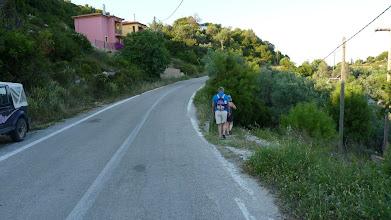 Photo: At first along the main road