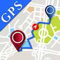 Techno GPS Maps: Navigation,Directions,Coordinates icon