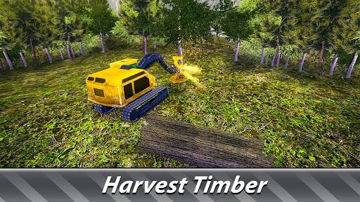 Logging Harvester Truck 1.4 screenshots 11