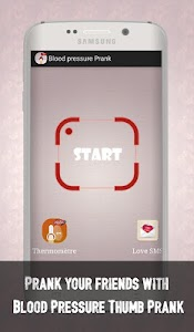 Blood Pressure Thumb Prank screenshot 1