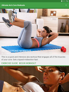 Ultimate Ab & Core Workouts screenshot