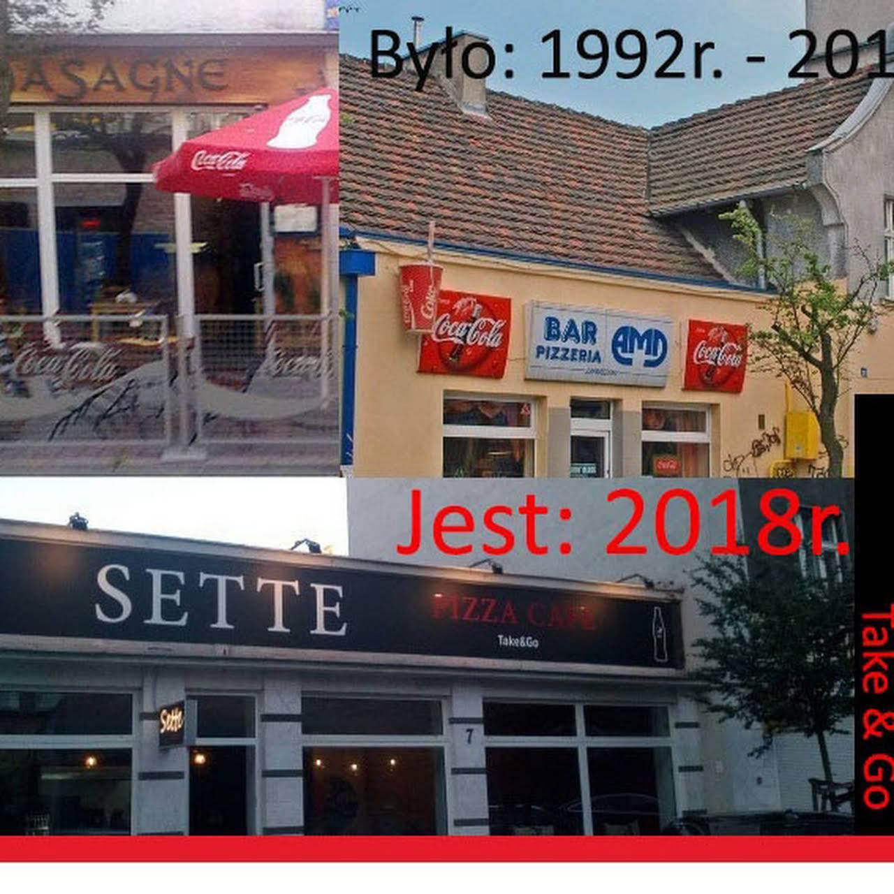 Sette Pizza Take Go Pizzeria Gdynia Kuchnia Włoska Kuchnia